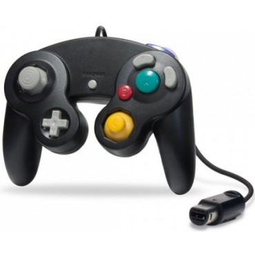 GAMECUBE CONTROLLER FOR WII AND GAMECUBE BLACK COLOR