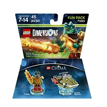 LEGO DIMENSIONS FUN PACK 71223 CHIMA CRAGGER