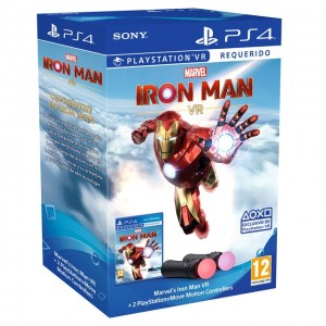 PS Move x2 + PS4 Marvel's Iron Man VR