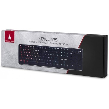 Spartan Gear - Cyclops Wired Mechanical Gaming Keyboard