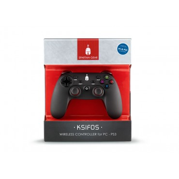 Spartan Gear - Ksifos Wireless Controller (Compatible with PC and Playstation 3)