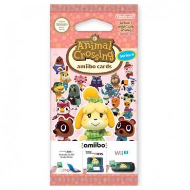 amiibo Cards (3pcs) Animal Crossing Series 4