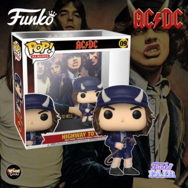 Funko POP! Albums AC/DC - Highway to Hell #09 Vinyl Figure