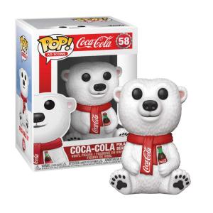 Funko POP! Ad Icons: Coca-Cola - Polar Bear #58 Vinyl Figure