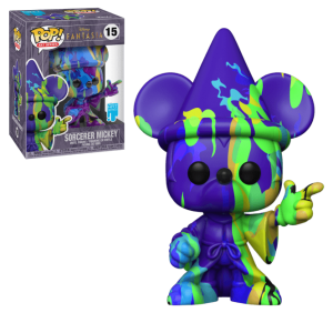 Funko POP! Art Series: Disney Fantasia 80 Years - Sorcerer Mickey (Art Series) #15 Vinyl Figure