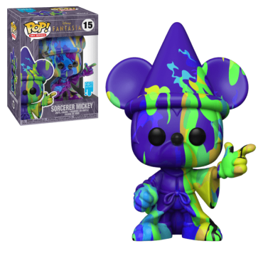Funko POP! Art Series: Disney Fantasia 80 Years - Sorcerer Mickey (Art Series) #15 Vinyl Figure