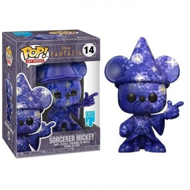 Funko POP! Art Series: Disney Fantasia 80 Years - Sorcerer Mickey #14 (Art Series) Vinyl Figure