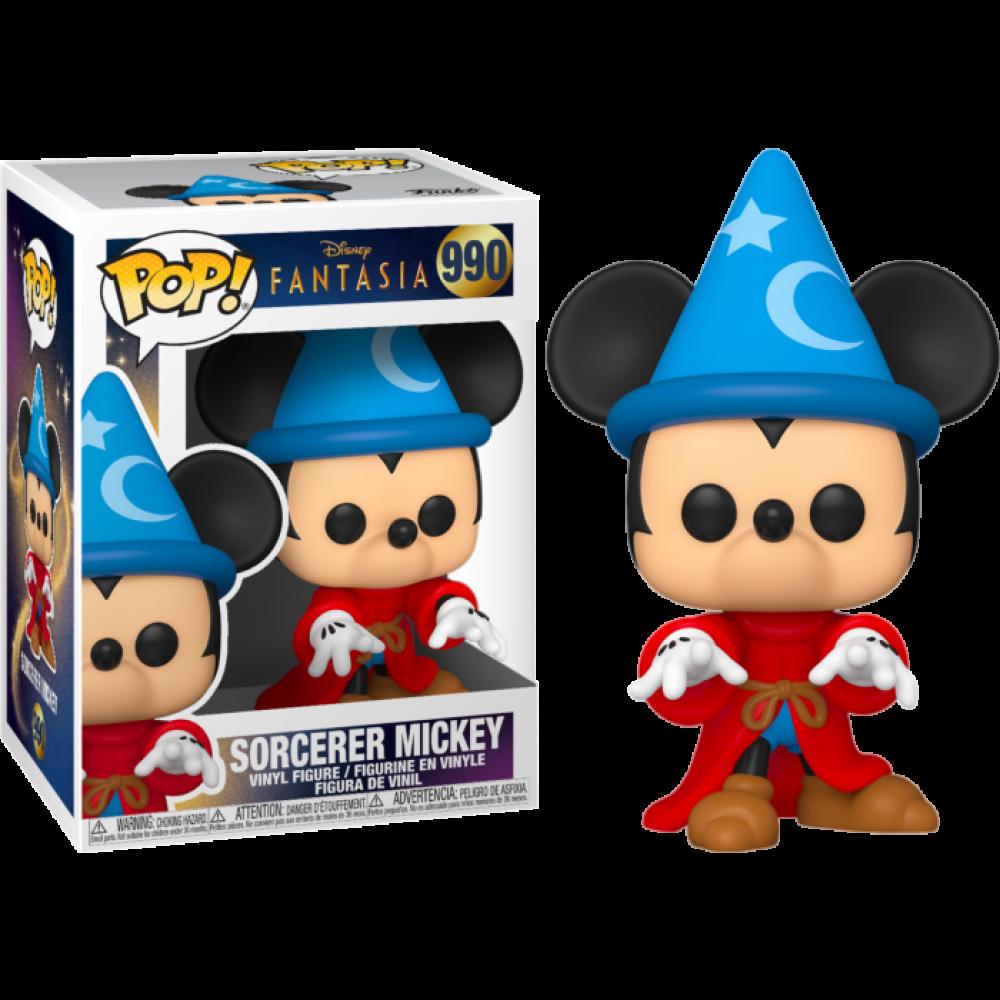 Funko POP! Disney: Fantasia 80th - Sorcerer Mickey #990 Vinyl Figure