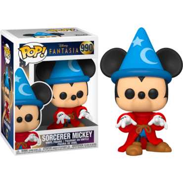 Funko POP! Disney: Fantasia 80th - Sorcerer Mickey #990 Vinyl Figure