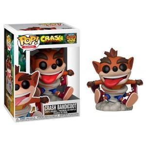 Funko POP! Games: Crash Bandicoot S3 - Crash Bandicoot #532 Vinyl Figure