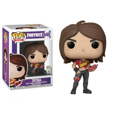 Funko POP! Games: Fortnite - TNTina #640 Vinyl Figure