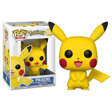 Funko POP! Games: Pokemon - Pikachu #353 Vinyl Figure
