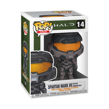 Funko POP! Halo: Halo Infinite - Spartan Mark VII with VK78 Commando Rifle #14 Vinyl Figure