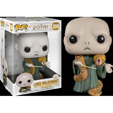 Funko POP! Harry Potter: Wizarding World - Lord Voldemort with Nagini (25cm) #109 Vinyl Figure