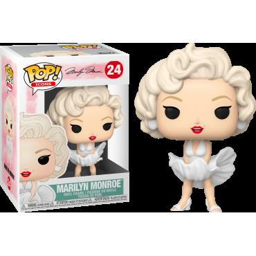 Funko POP! Icons: Marilyn Monroe (White Dress) #24 Vinyl Figure