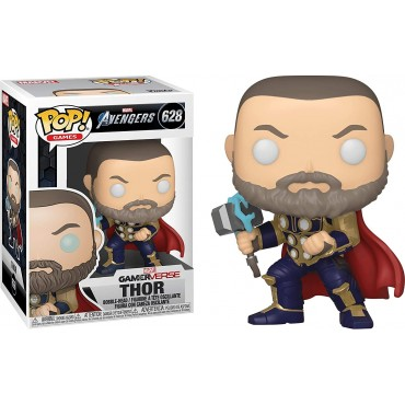 Funko POP! Marvel: Avengers Gameverse - Thor (Stark Tech Suit) #628