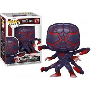 Funko POP! Marvel Gamerverse: Spider-Man - Miles Morales (Programmable Matter Suit) #773 Bobble-Head Vinyl Figure