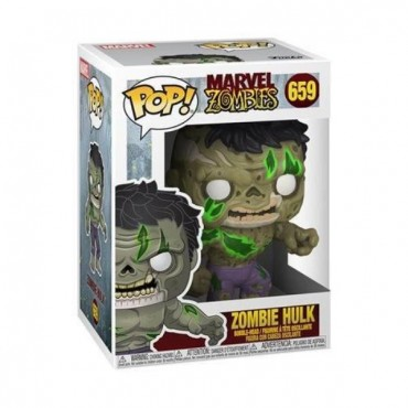 Funko POP! Marvel Zombies - Zombie Hulk #659 Bobble-Head Vinyl Figure