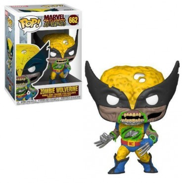 Funko POP! Marvel Zombies - Zombie Wolverine #662 Bobble-Head Vinyl Figure