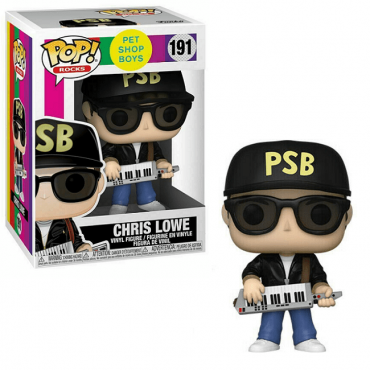 Funko POP! Rocks: Pet Shop Boys - Chris Lowe #191 Vinyl Figure