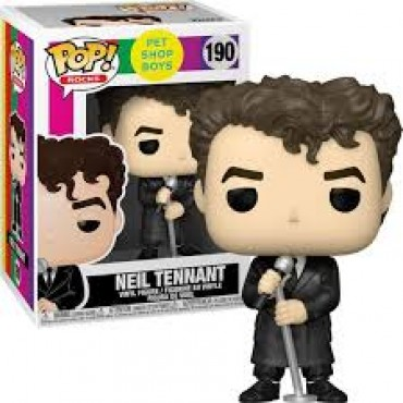 Funko POP! Rocks: Pet Shop Boys - Neil Tennant #190 Vinyl Figure