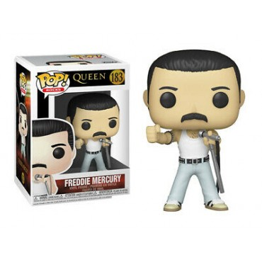 Funko POP! Rocks: Queen - Freddie Mercury (Radio Gaga) #183 Vinyl Figure