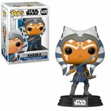 Funko POP! Star Wars: Clone Wars - Ahsoka #409 Bobble-Head Vinyl Figure