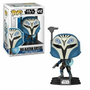 Funko POP! Star Wars: Clone Wars - Bo-Katan Kryze #412 Bobble-Head Vinyl Figure