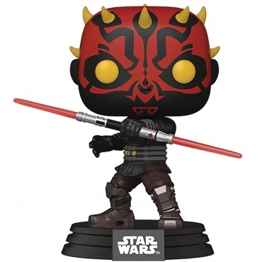 Funko POP! Star Wars: Clone Wars - Darth Maul #410 Bobble-Head Vinyl Figure