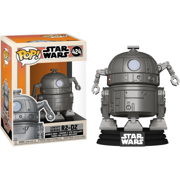 Funko POP! Star Wars: Concept Series R2-D2 #424 Bobble-Head Vinyl Figure