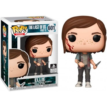Funko POP! Games: The Last Of Us Part II - Ellie #601 Vinyl Figure