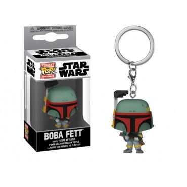 Funko Pocket POP! Keychain: Star Wars - Boba Fett Vinyl Figure Keychain