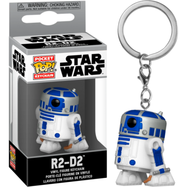 Funko Pocket POP! Star Wars - R2-D2 Vinyl Figure Keychain