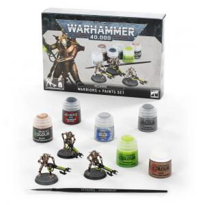 Necrons Warriors + Paints Set