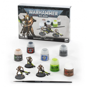 Necrons Warriors + Paints Set