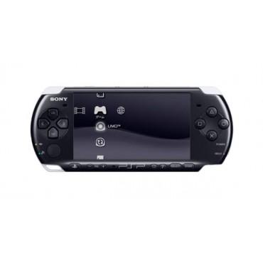 PSP 3000 Black + 8GB Memory Stick LIETOTS + Māciņš