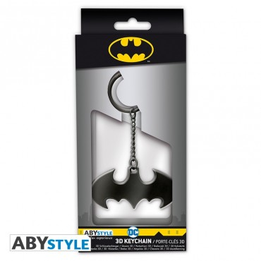"Abysse DC Batman: ""Batarang"" Metal 3D Keychain PIEKARIŅŠ"