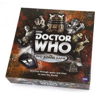 50 Years BBC Doctor Who DVD Board Game