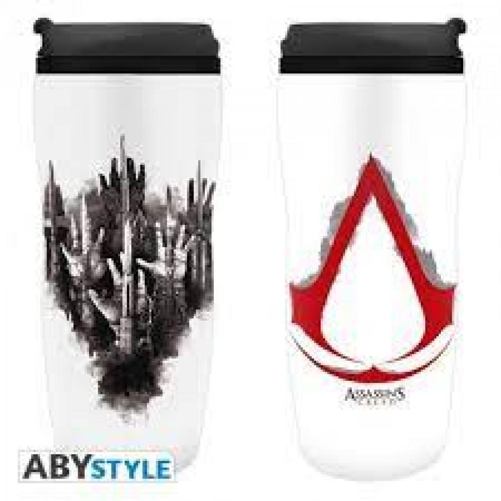 "Abysse Assassin's Creed - ""Crest"" Travel Mug"