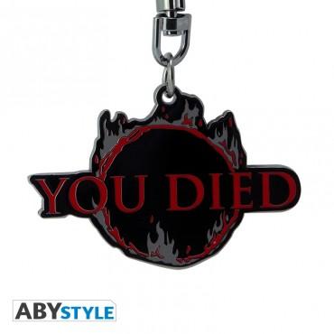 "Abysse Dark Souls - ""You Died"" Metal Keychain"