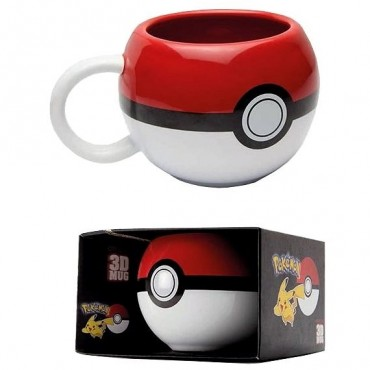 Abysse Pokemon - Pokemon Pokeball Mug 3D