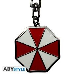 Abysse Resident Evil - Umbrella Logo Metal Keychain