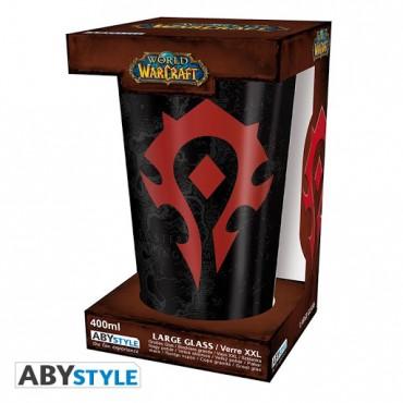 Abysse World Of Warcraft - Horde 400ml Large Glass