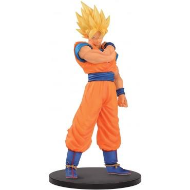 Banpresto Dragon Ball Z: Resolution of Soldiers - Super Saiyan Goku Statue (18cm)