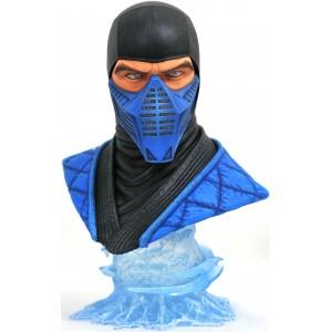 Diamond Select Toys: Mortal Kombat 11 Legends in 3D Sub Zero 1/2 Scale Bust