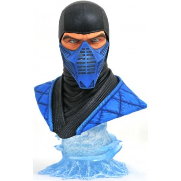 Diamond Select Toys: Mortal Kombat 11 Legends in 3D Sub Zero 1/2 Scale Bust