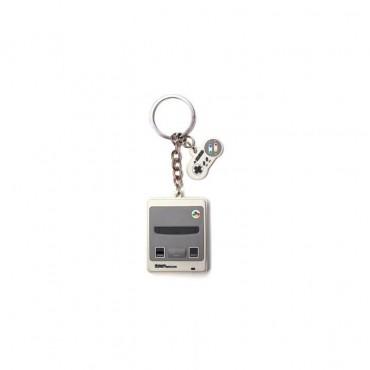 Difuzed Nintendo - Snes 3D Rubber Keychain