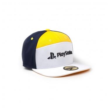 Difuzed PlayStation - 7 Panels Snapback Cap