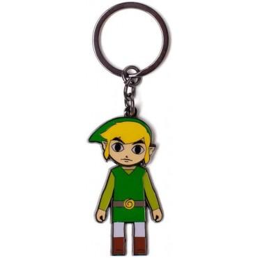 Difuzed Zelda - Link With Moveable Head Metal Keychain