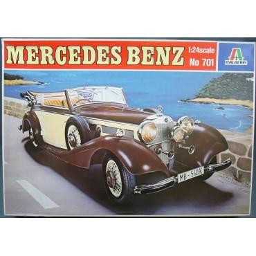 Italeri - Mercedes Benz No 701 - 1:24 Scale